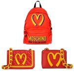 moschino mcdonalds bags